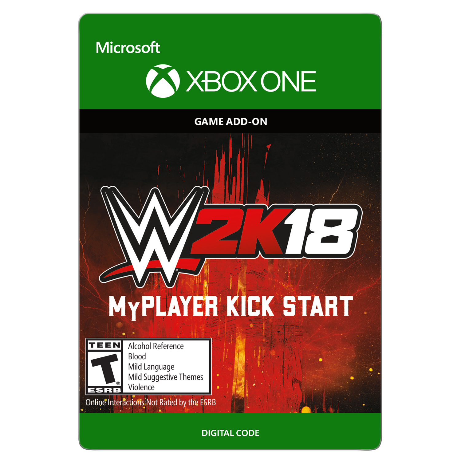 WWE 2K18: MyPlayer KickStart Xbox One (Email Delivery)