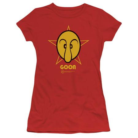 - Popeye The Sailor Man Animated Cartoon Character Goon Juniors Sheer T-Shirt Tee