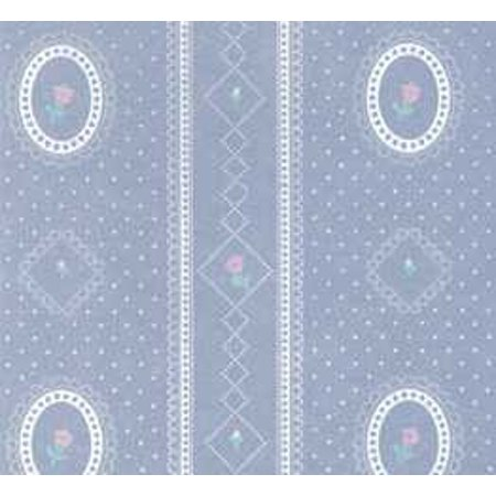 Dollhouse 3 Pack Wallpaper: Cameo Stripe Reverse, Blue