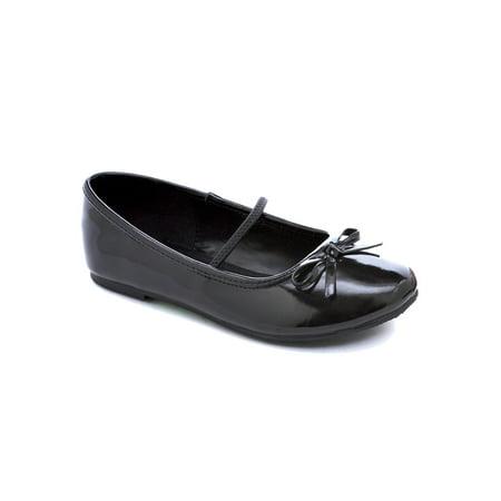 Girls Black Ballet Flats - Girls Black Ballet Flats