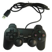 USB Game Controller PS2 Wired Controller Single Single Vibration Game Player Remote Controller
