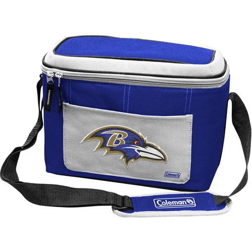 "Coleman 11"" x 7"" x 9"" 12-Can Cooler, Baltimore Ravens"