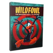 Lord Mischief Entertainment Wild Fowl Vintage Advertisement on Wrapped Canvas