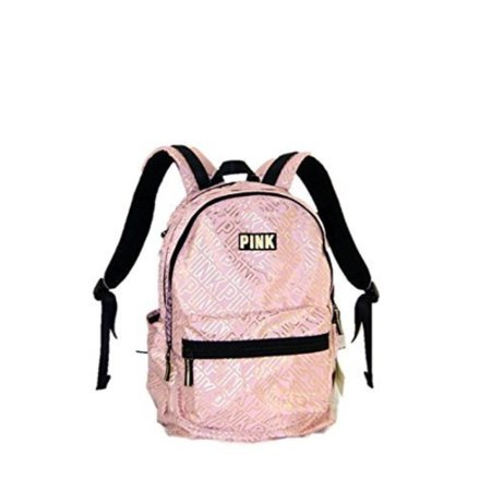 d264773b573 Victoria s Secret - Victorias Secret PINK Campus Backpack Cocoon Gold pink  School bag Book bag NEW - Walmart.com