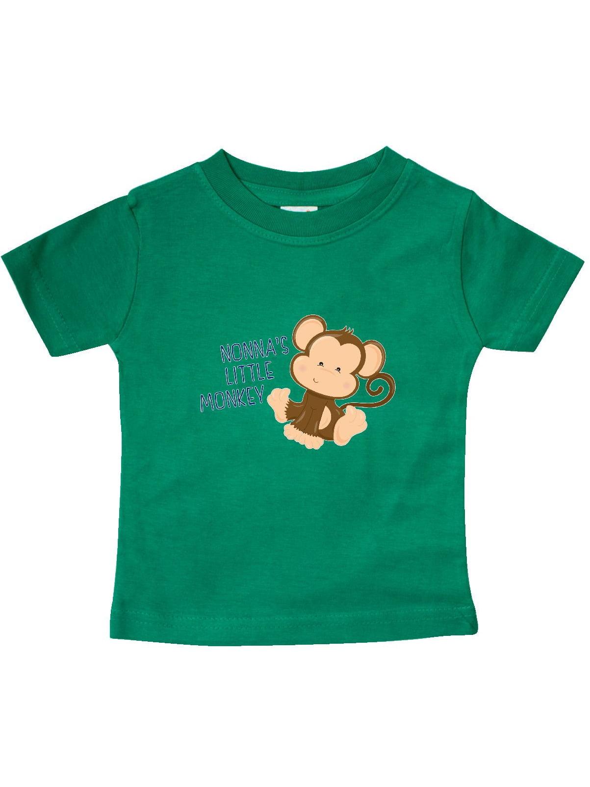 nonna\'s little monkey Baby T-Shirt - Walmart.com