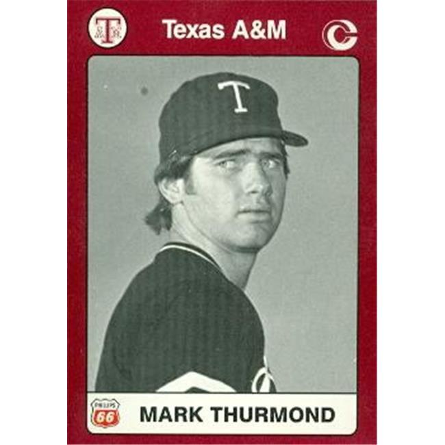 Mark Thurmond Baseball Card (Texas A&M) 1991 Collegiate Collection No. 40