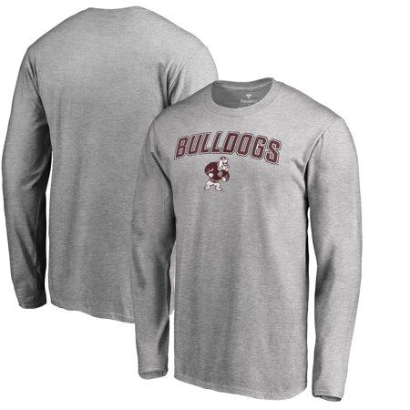 Alabama A&M Bulldogs Proud Mascot Long Sleeve T-Shirt - Ash ()