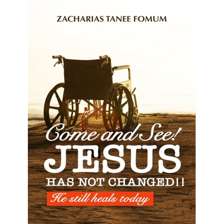 Come And See! Jesus Has Not Changed!! He Still Heals Today - (He Has Come For Us Accompaniment Track)