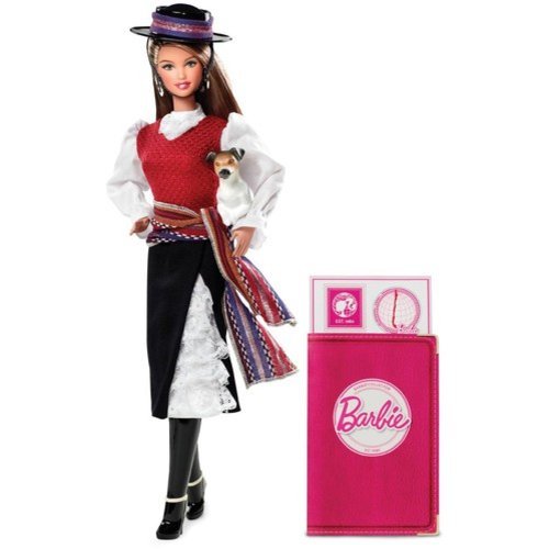 Barbie Collector Barbie Dolls of the World Doll, Chile Doll