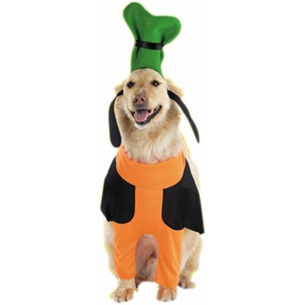 Goofy Dog Costume~Small / Orange