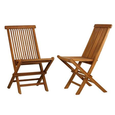 Cortesi Home Vega Folding Dining Side Chair