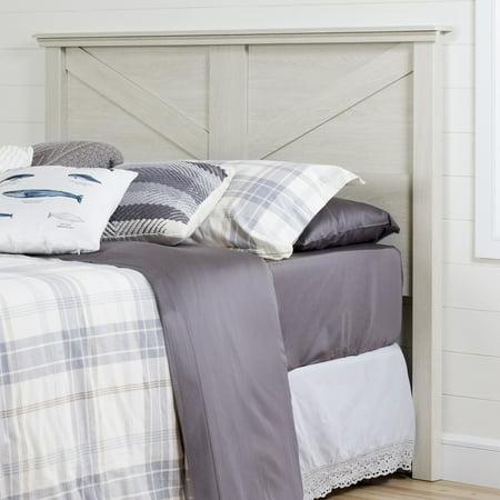 Bedroom Oak Bed Frame - South Shore Avilla Full/Queen Headboard (54/60''), Winter Oak