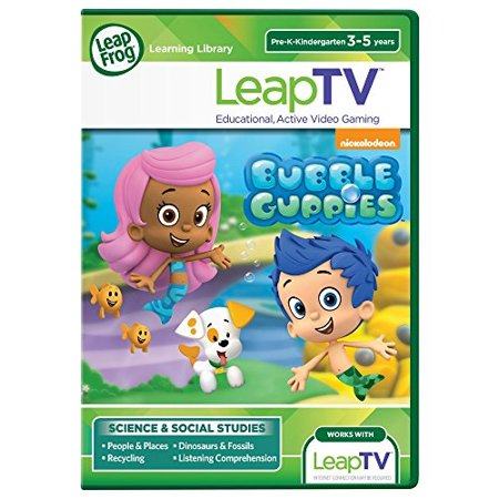 LeapFrog LeapTV Nickelodeon Bubble Guppies Educational, Active Video