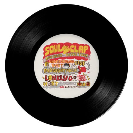 Go / Give Me A Reason (Soul Clap Records Revue Tour Limited) (Vinyl) (7-Inch)](Halloween Underground Tour)