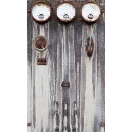 Old Electrical Panel II Canvas Art - Kathy Mahan (12 x 18)