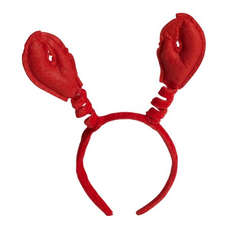 Mardi Gras Crawfish Claws Headband One Size Halloween Costume Accessory (Mardi Gras Costumes Plus Size)