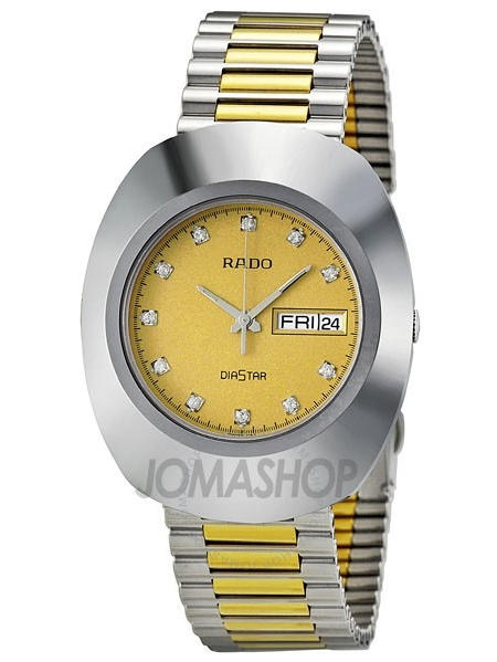 Rado The Original Two Tone Stainless Steel Men's Watch R12391633