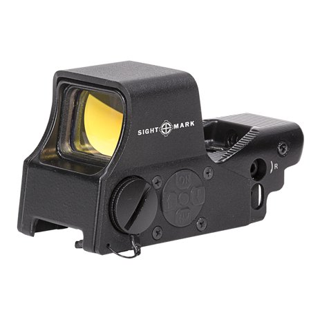 Sightmark Ultra Shot M-Spec FMS Reflex Sight (Fixed Mount Standard 1913 Picatinny (Trijicon Ruggedized Miniature Reflex Low Picatinny Rail Mount)