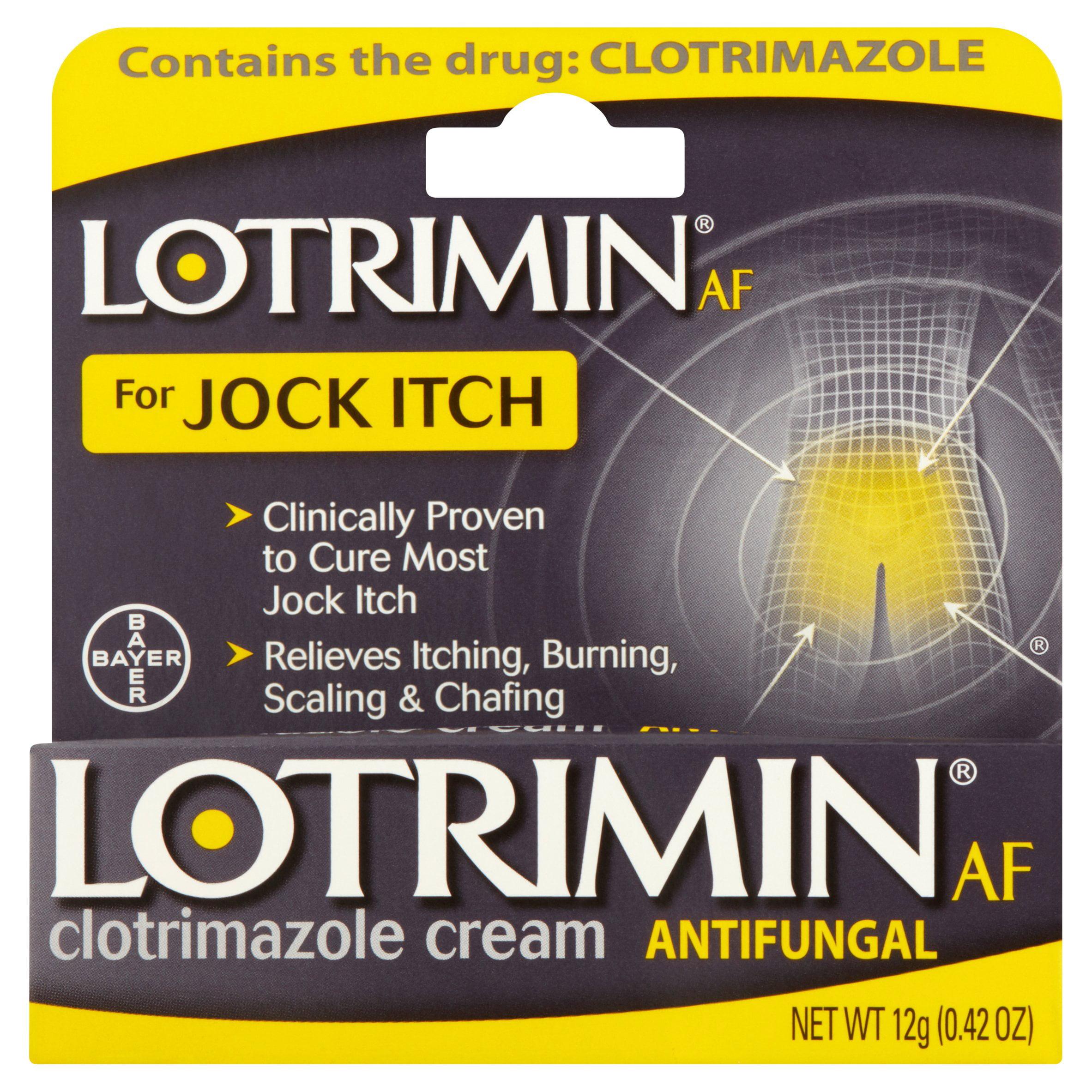 Lotrimin Antifungal Jock Itch Cream, 0.42Oz