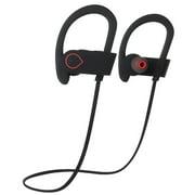 Baytek Wireless Bluetooth Sport Headphones in Black