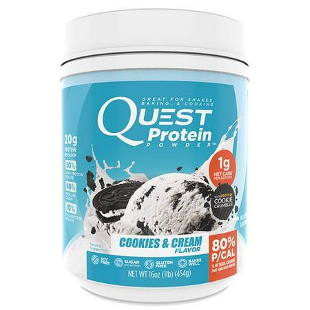 Quest Protein 1Lb   Cookies   Cream