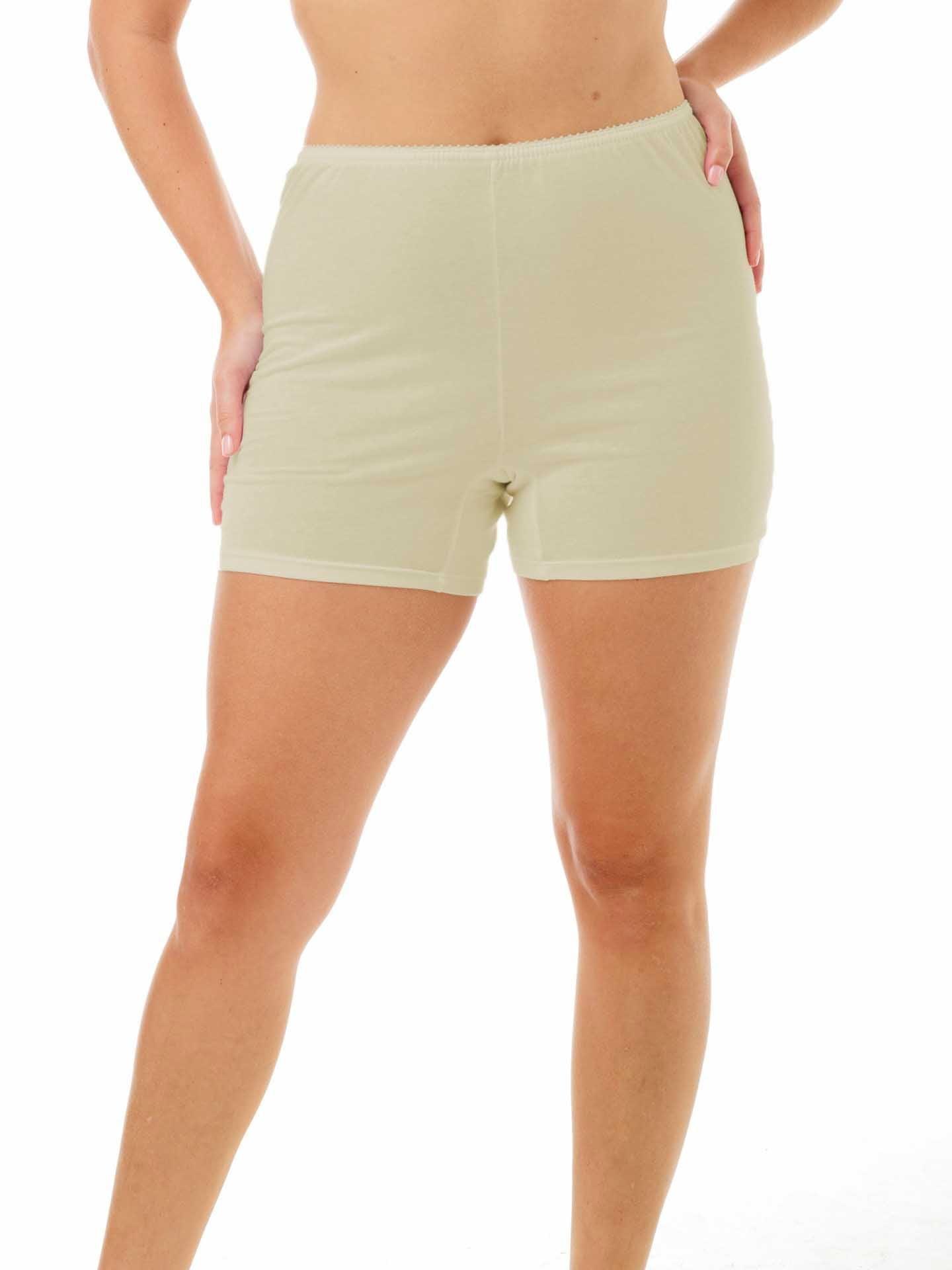 Women's Cotton Bloomers Trunk Leg Pants 5 Inch Inseam 16 & 20 inch Length