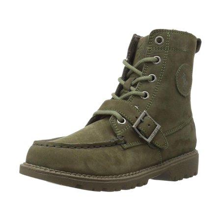 Kids Polo Ralph Lauren Boys Rf100536c Ankle Lace Up Combat Boots ()