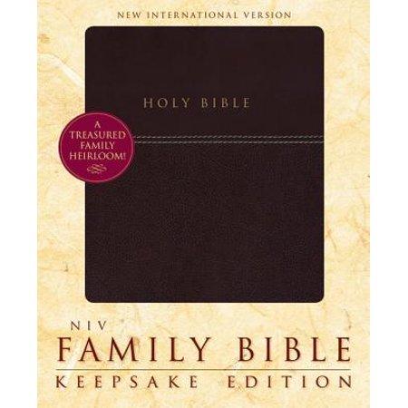 Family Bible-NIV-Keepsake