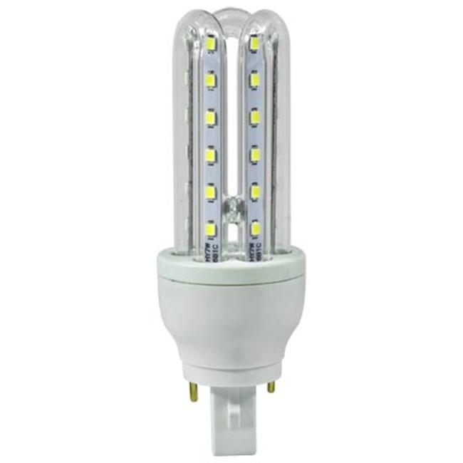 Dabmar Lighting DL-T-LED-36-30K G24-2-Pin Base Tubular Light Blub - 7W 85-265V 30K, White - 5 x 1.68 x 1.68 in. - image 1 of 1
