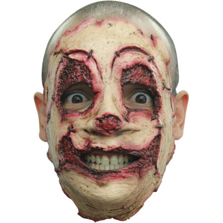 Serial Killer 22 Latex Face Adult Halloween Accessory](Ghoulish Halloween Faces)