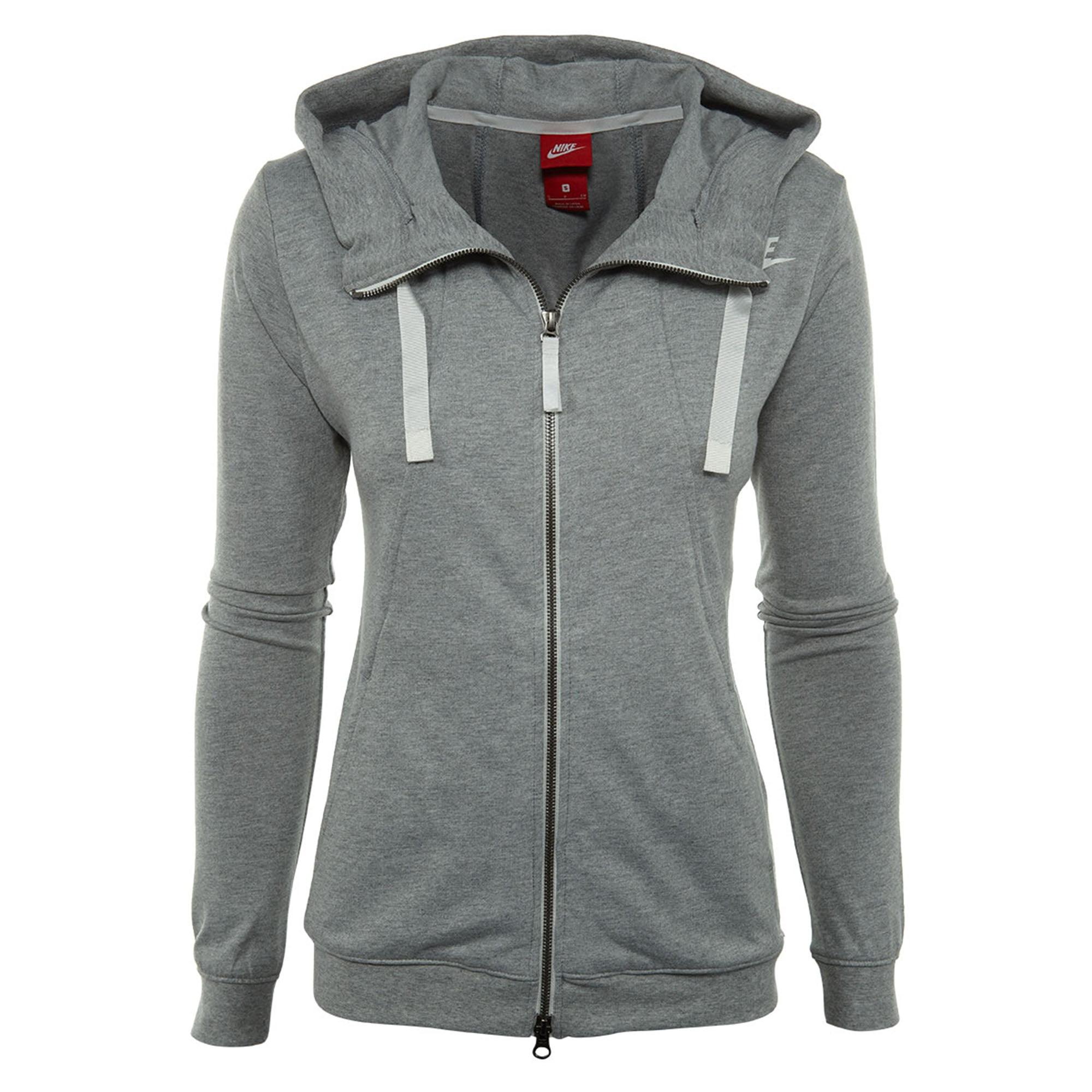 5f03694b7cfe Nike - nike sportswear gym classic full zip hoodie womens style   924081 -  Walmart.com