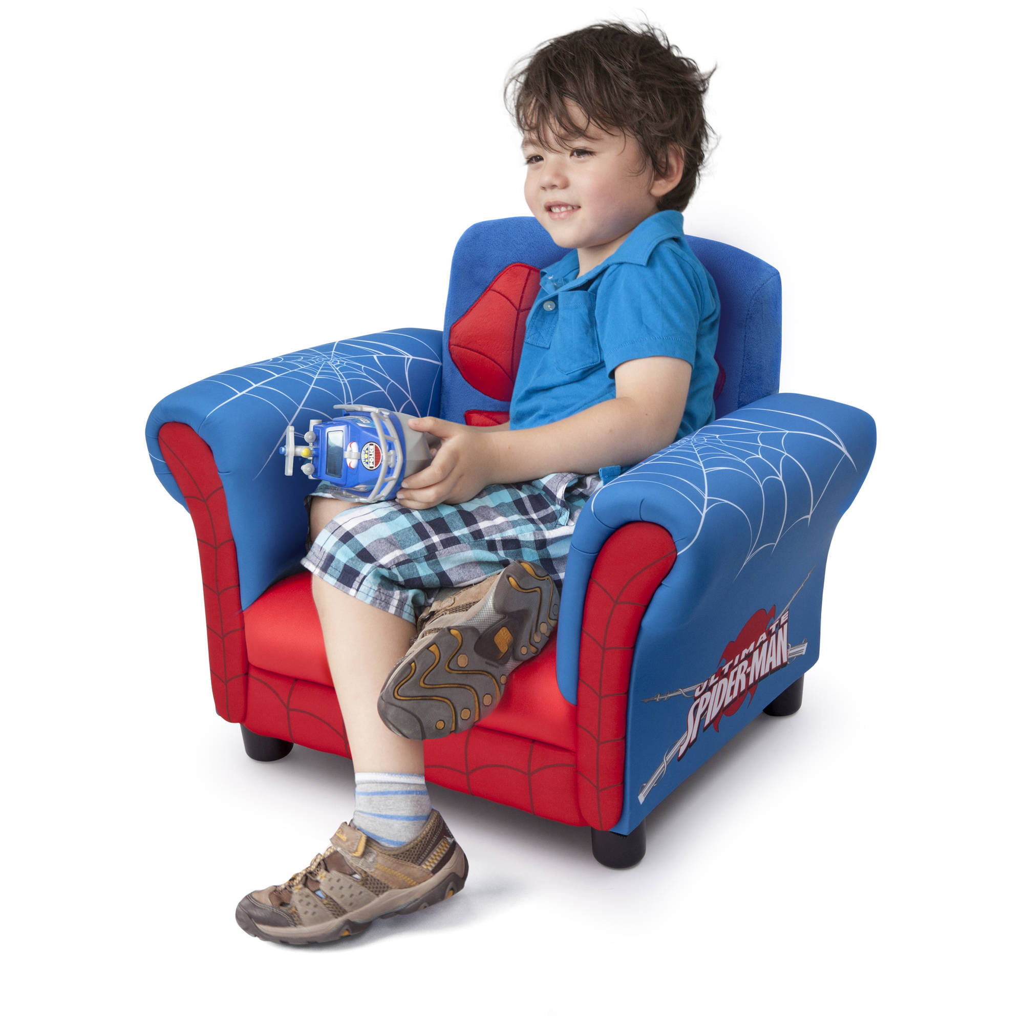 Delta Children s Products Spider Man Figural Chair Walmart