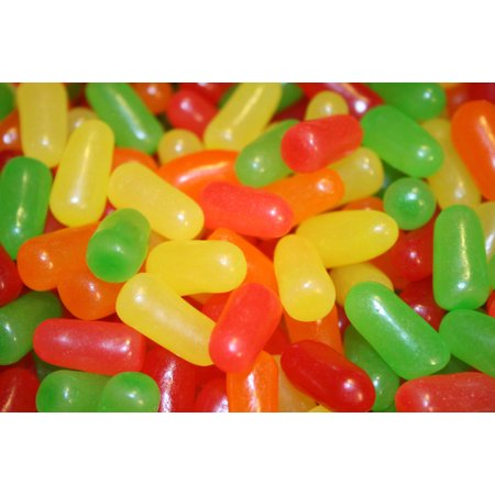 BAYSIDE CANDY MIKE & IKE CANDY, 1LB (Mike And Ike Tangy Twister Jelly Beans)