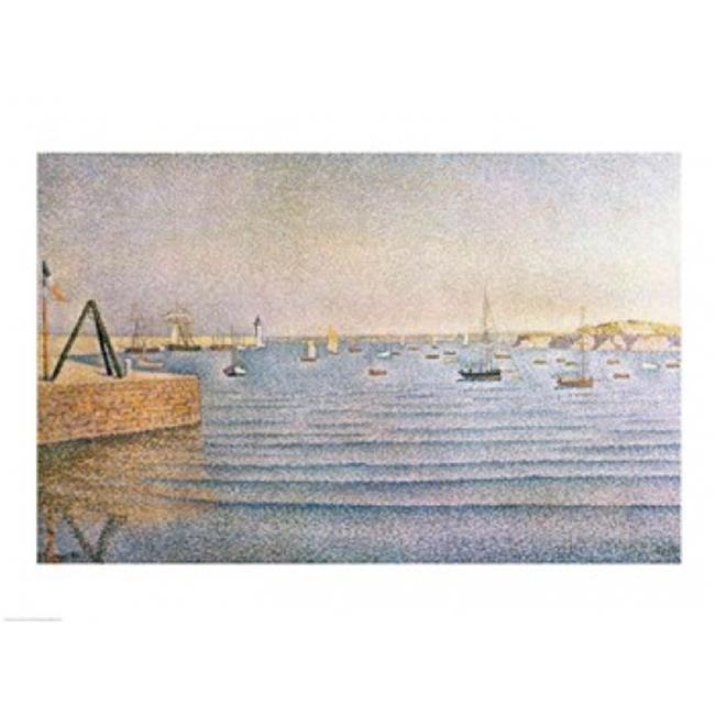 Posterazzi BALXIR214247 The Harbour at Portrieux 1888 Poster Print by Paul Signac - 24 x 18 in. - image 1 de 1