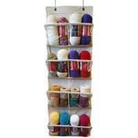 Over The Door Storage/Organizer-White