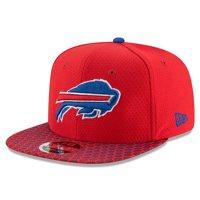 Buffalo Bills New Era 2017 Sideline Official 9FIFTY Snapback Hat - Red - OSFA