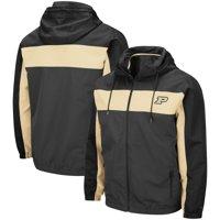 Purdue Boilermakers Colosseum Brockman Full-Zip Jacket - Charcoal