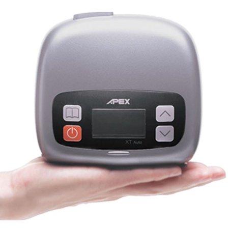 XT Auto Travel CPAP Machine (SF04101) by Apex Medical (No Tax) - APAP (Best Travel Cpap Machine 2019)
