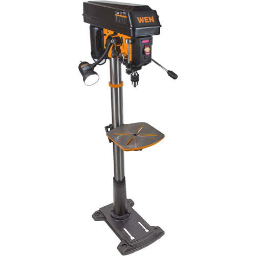 WEN 8.6A Variable Speed Floor Standing Drill Press, 15""