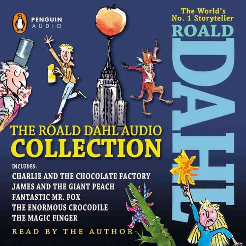 The Roald Dahl Audio Collection: Includes Charlie and the Chocolate Factory, James and the Giant Peach, Fantastic Mr. Fox, The Enormous Crocodile,  The Magic Finger