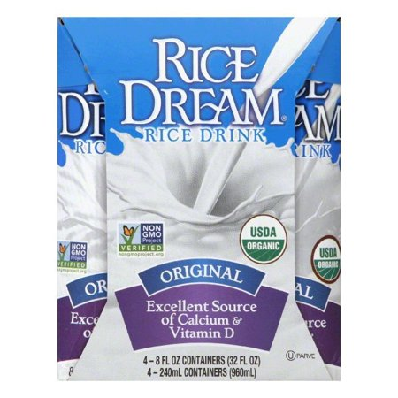 RICE DREAM Enriched Original Organic Rice Drink, 8 fl. oz. (Pack of ...