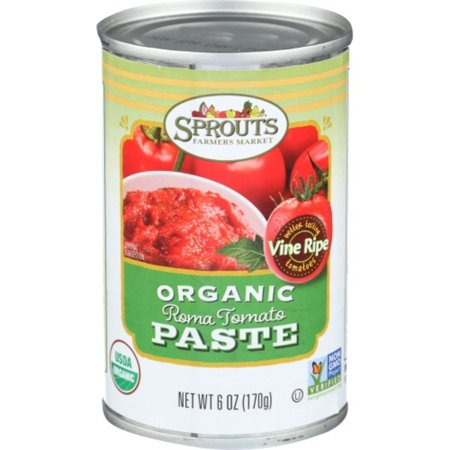 Sprouts Organic Tomato Paste, 6 OZ