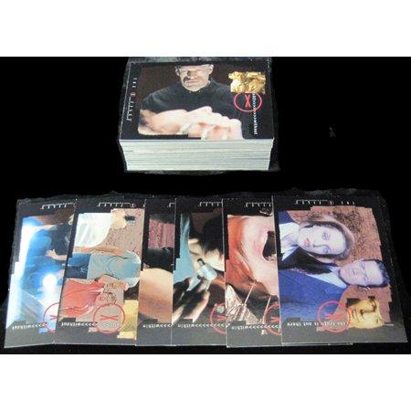2002 Inkworks X-Files Season 8 Trading Card Set (90) Nm/Mt X-files Trading Card