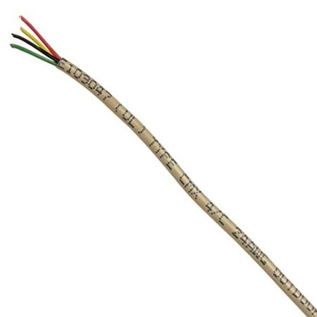 24 Awg Solid Wire | 400 Ft Telephone 24 Awg Ga 4 Conductor Solid Copper Wire Cable Round