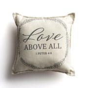 DaySpring, Love Above All, Small Throw Pillow, 12x12