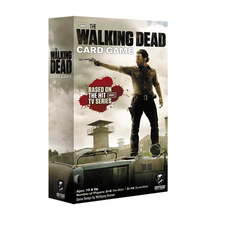 The Walking Dead Card Game  Based On The Amc Television Show By Cryptozoic Entertainment