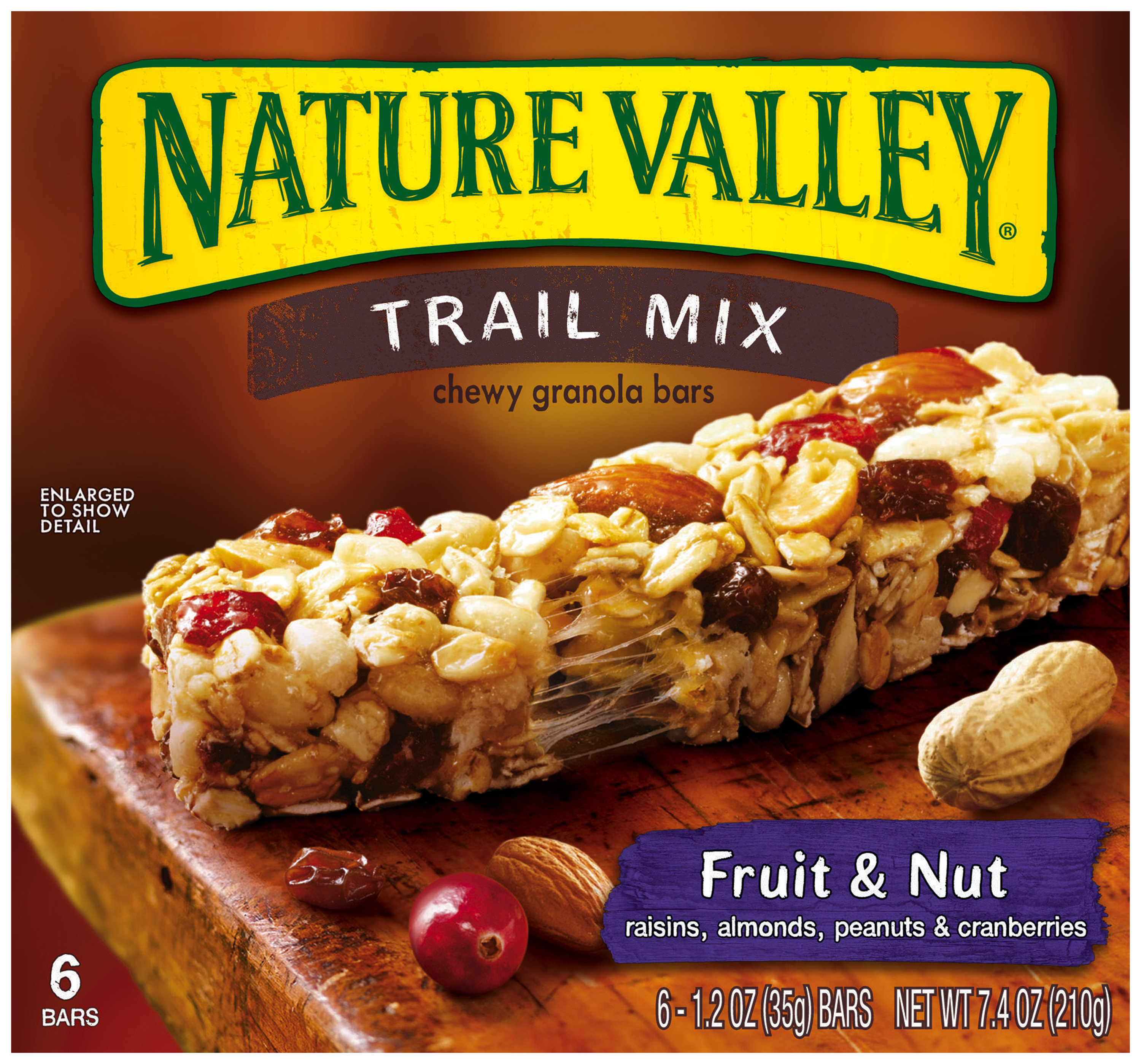Nature Valley�� Fruit & Nut Trail Mix Chewy Granola Bars 6 ct. Box