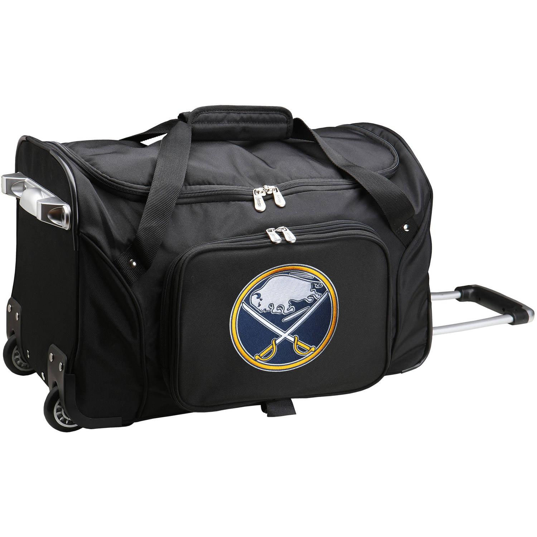 "Denco NHL 22"" Rolling Duffel, Buffalo Sabres by Mojo Licensing"