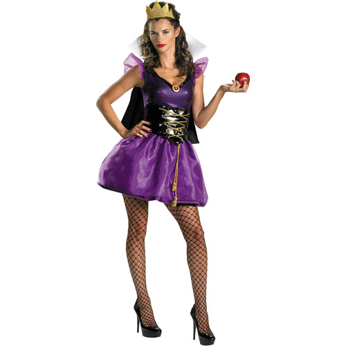 Evil Queen Sassy Adult Halloween Costume