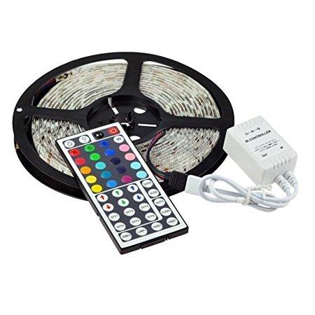 KLAREN 5-Meter Waterproof Flexible Color Changing RGB SMD5050 300 LEDs Light Strip Kit with 44 Key Remote (Klaren Rahmen Fake Brille)